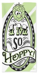 So Hoppy Hand Towel