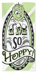 So Hoppy Hand Towel