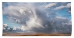 Soaring Clouds Hand Towel