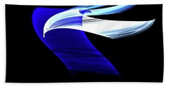 Hand Towel featuring the digital art Soaring by Lea Wiggins