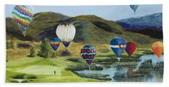 Soaring Over Colorado Hand Towel