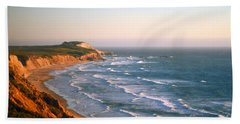 Socal Sunset Ocean Front Hand Towel