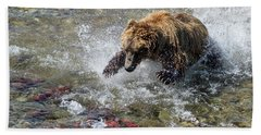 Bath Towel featuring the photograph Sockeye In Sight  by Cheryl Strahl
