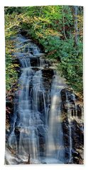 Soco Falls In Fall Bath Towel