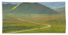 Soda Lake Road Hand Towel by Marc Crumpler