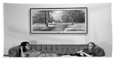 Sofa-sized Picture, With Light Switch, 1973 Bath Towel