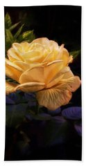 Soft Gold Rose Bath Towel