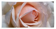 Soft Rose Hand Towel
