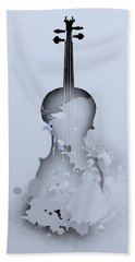 Soft Violin Bath Towel