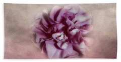 Bath Towel featuring the photograph Softly Pink by Judy Hall-Folde
