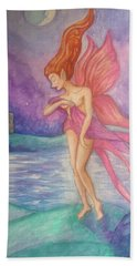 Softly,on The Wings Of Night Bath Towel