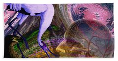 Solar Whisper Winds Of Change Hand Towel by Joseph Mosley