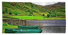 Solitude In The Lake District  Bath Towel