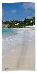 Solitude On Dawn Beach Bath Towel