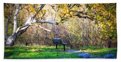 Solitude Under The Sycamore Hand Towel