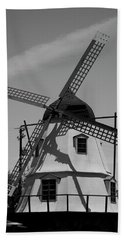 Solvang Windmill Hand Towel by Ivete Basso Photography