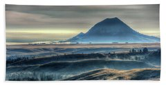 Some Bear Butte Fog Hand Towel