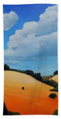 Something About Clouds, Panel 3 Hand Towel