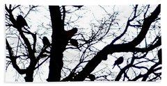 Bath Towel featuring the photograph Something To Crow About by Sadie Reneau