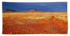 Somewhere In The Outback, Central Australia Bath Towel