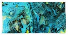 Somewhere New 6- Art By Linda Woods Bath Towel