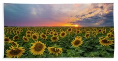 Somewhere Sunny  Hand Towel by Aaron J Groen