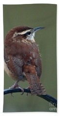 Song Bird 2 Bath Towel