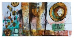 Song Bath Towel by Karin Husty