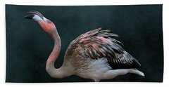 Song Of The Flamingo Hand Towel