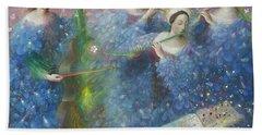 Song Of The Goddess Natura Bath Towel