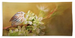 Song Sparrow Hand Towel