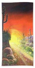 Sonora Sunrise Hand Towel