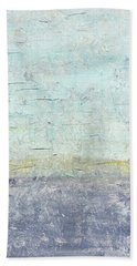 Sonoran Desert #3 Southwest Vertical Landscape Original Fine Art Acrylic On Canvas Bath Towel