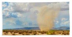 Sonoran Desert Dust Devil Hand Towel