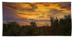 Bath Towel featuring the photograph Sonoran Sonata H01 by Mark Myhaver