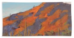 Sonoran Sunset - Art By Bill Tomsa Bath Towel