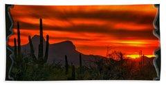 Sonoran Sunset H38 Bath Towel