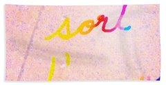 Sort D Amour Trois Bath Towel