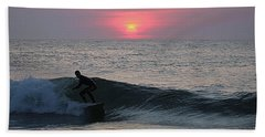 Hand Towel featuring the photograph Soul Surfer by Robert Banach