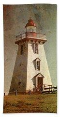 Souris Lighthouse 4 Bath Towel
