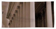 South Carolina State House Columns  Hand Towel