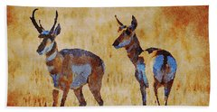 South Dakota 2017 Antelope Bath Towel