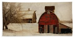 South Dakota Corn Crib Bath Towel
