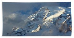 South Face - Mount Rainier Hand Towel