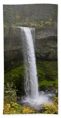South Falls Of Silver Creek II Hand Towel