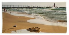 South Haven Lighthouse Hand Towel