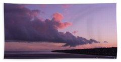 South Jetty At Sunset Bath Towel