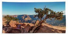 South Kaibab Grand Canyon Hand Towel by Phil Abrams