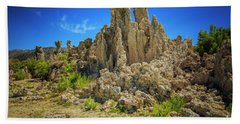 South Tufa 1 Hand Towel by Craig J Satterlee