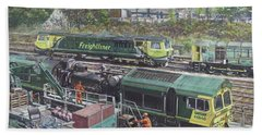 Southampton Freightliner Train Maintenance Bath Towel